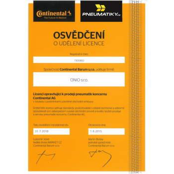 Continental SportContact 3 225/45 R17 91 Y SSR nyári * fr - 3