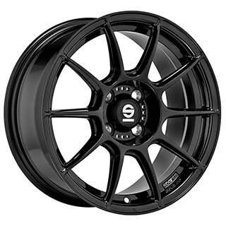Sparco FF 1 Alufelni 7x15 4x100 ET35 CB63.3 | fekete lakk