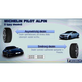 Michelin PILOT ALPIN PA4 225/50 R18 95 H ZP téli fr - 2