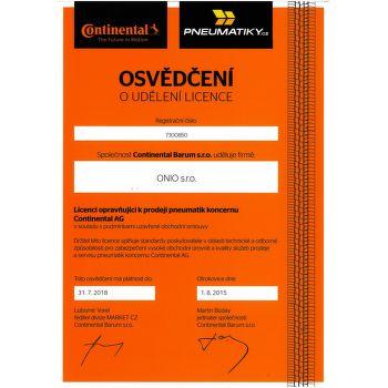 Continental SportContact 2 195/50 R16 88 V nyári XL fr - 3