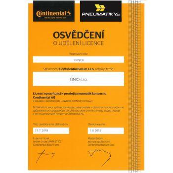 Continental PremiumContact 195/55 R16 87 V Nyári MO FR - 2